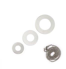 ImpressArt ImpressArt Multi Washer Necklace