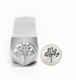 ImpressArt ImpressArt Tree Of Life Signature Design Stamp, 6mm