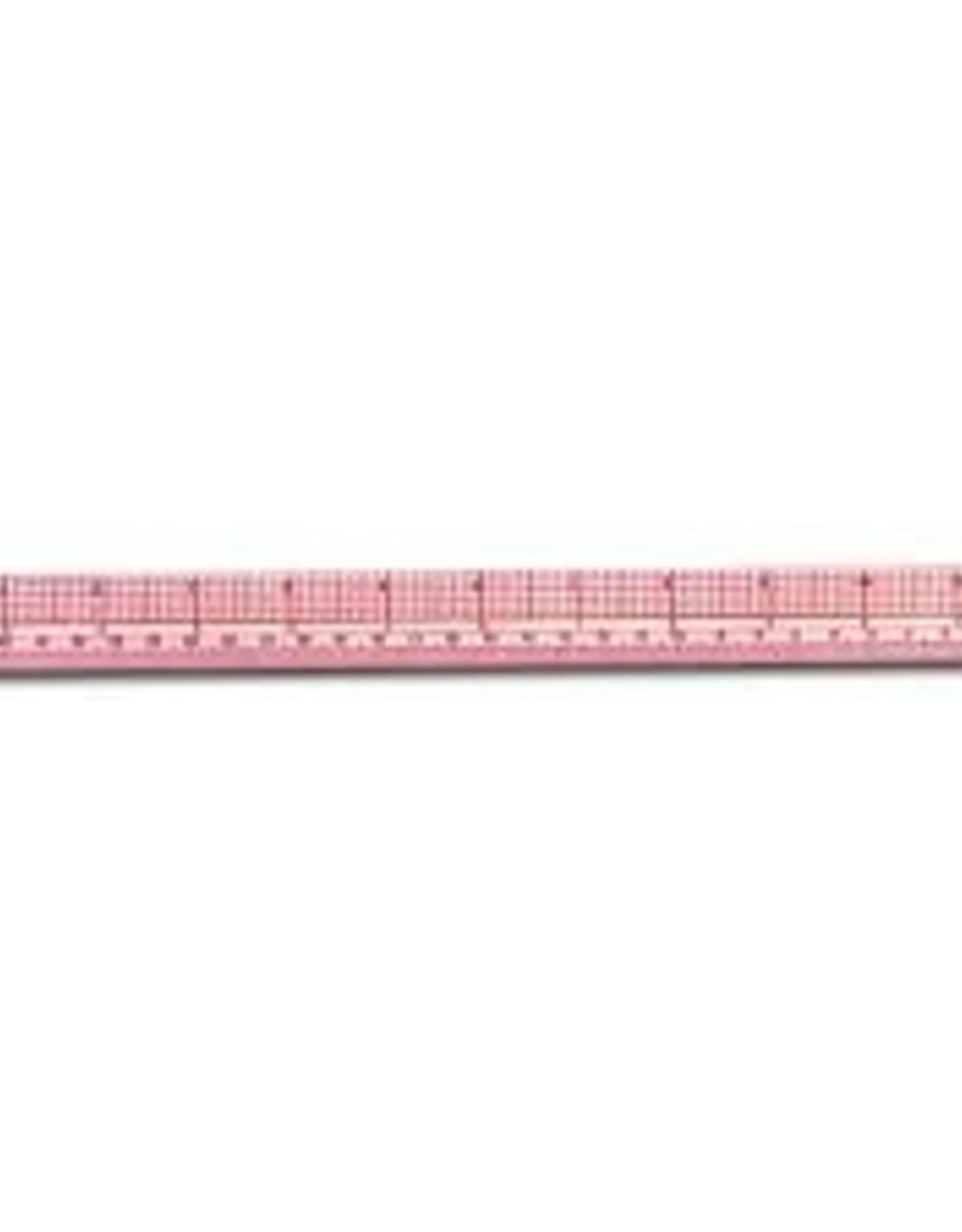 """Wescott 12""""/30cm 10ths/Metric Beveled Ruler"""