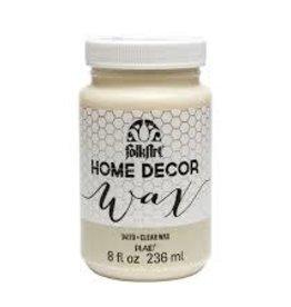 Folkart Home Decor Wax 8 oz - Clear
