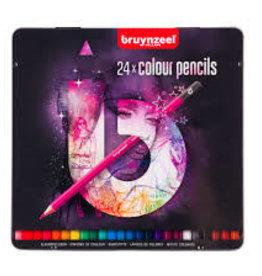 Royal Talens Bruynzeel Colour Pencils 24 Pink