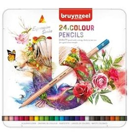 Royal Talens Bruynzeel Expression Colour Pencil Tin Set/24