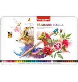 Royal Talens Bruynzeel Expression Colour Pencil Tin Set/36