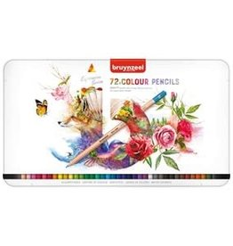 Royal Talens BRUYNZEEL EXPRESSION COLOUR PENCIL TIN SET/72