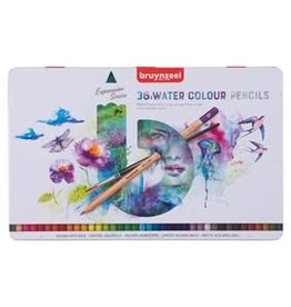 Royal Talens Bruynzeel Expression Watercolour Pencil Tin Set/36