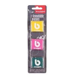 Royal Talens Bruynzeel Kneaded Erasers Set 3