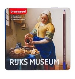 Royal Talens Dutch Master Rijks Museum Set/24 Colour Pencil Milkmaid