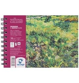"Royal Talens National Gallery Van Gogh Draw/Sketch Spiral Pad 5.8"" x 8.3"""