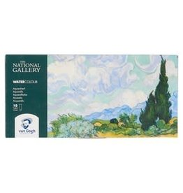 Royal Talens National Gallery Van Gogh Watercolour Basic Set 10x10Ml
