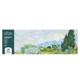 Royal Talens National Gallery Van Gogh Watercolour Metal Tin Pocket Box 24 Pan