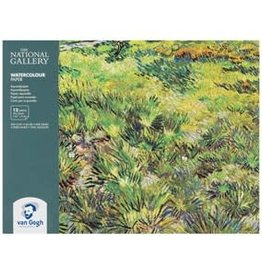 "Royal Talens National Gallery Van Gogh Watercolour Paper Block 7.01"" x 9.4"""