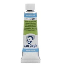 Royal Talens Van Gogh Watercolour 10ml/4 Tube Perm.Yellowish Grn
