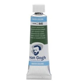 Royal Talens Van Gogh Watercolour 10ml/4 Tube Hooker Grn Dp