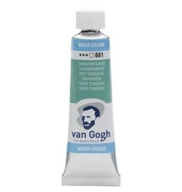 Royal Talens Van Gogh Watercolour 10ml/4 Tube Turq.Green