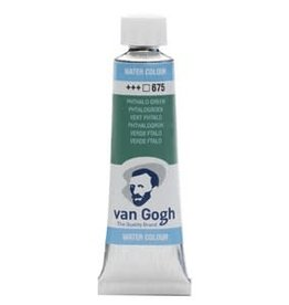 Royal Talens Van Gogh Watercolour 10ml/4 Tube Phth.Green