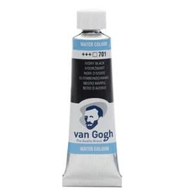 Royal Talens Van Gogh Watercolour 10ml/4 Tube Ivory Black