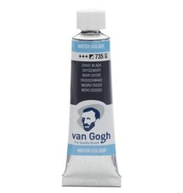Royal Talens Van Gogh Watercolour 10ml/4 Tube Oxide Black