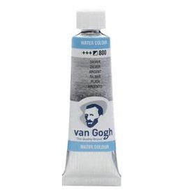 Royal Talens Van Gogh Watercolour 10ml/4 Tube Silver