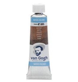Royal Talens Van Gogh Watercolour 10ml/4 Tube Copper
