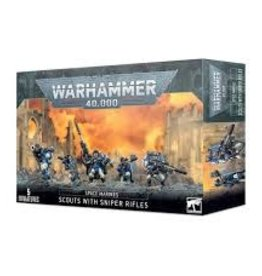 Games Workshop Warhammer 40,000 Space Marines Scouts With Sniper Rifles