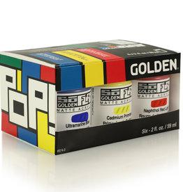 Golden Golden SoFlat Pop 6 Color Set