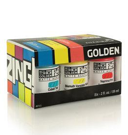 Golden Golden SoFlat Zing 6 Color Set