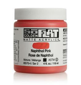 Golden Golden SoFlat Naphthol Pink 4 oz jar