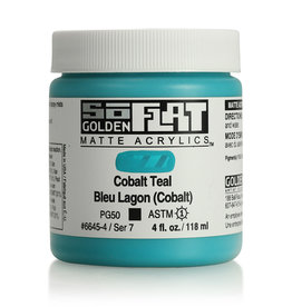 Golden Golden SoFlat Cobalt Teal 4 oz jar
