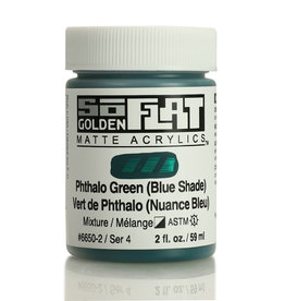 Golden Golden SoFlat Phthalo Green (Blue Shade) 2 oz jar