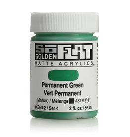 Golden Golden SoFlat Permanent Green  2 oz jar