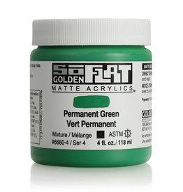 Golden Golden SoFlat Permanent Green  4 oz jar