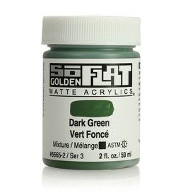 Golden Golden SoFlat Dark Green 2 oz jar