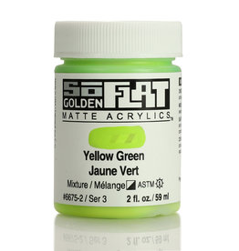 Golden Golden SoFlat Yellow Green 2 oz jar