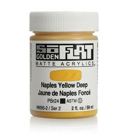 Golden Golden SoFlat Naples Yellow Deep 2 oz jar