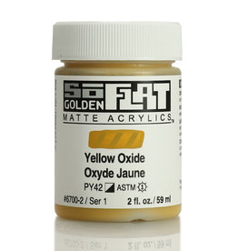 Golden Golden SoFlat Yellow Oxide 2 oz jar