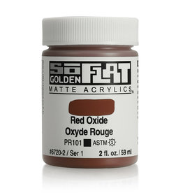 Golden Golden SoFlat Red Oxide 2 oz jar