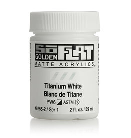 Golden Golden SoFlat Titanium White 2 oz jar