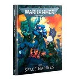 Games Workshop Warhammer 40K Space Marine Codex