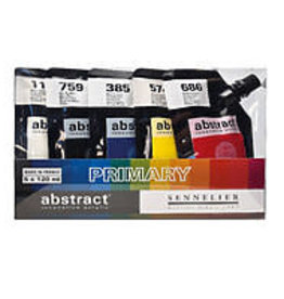 Sennelier Sennelier Abstract Acrylic Primary Set of 5