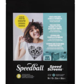 SPEEDBALL ART PRODUCTS Speedball 3-Pack Speed Screen