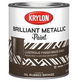 Krylon Krylon Pearlescent Brilliant Metallic Quart