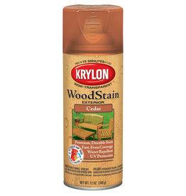 Krylon Krylon Exterior Semi-Transparent Wood Stain Cedar