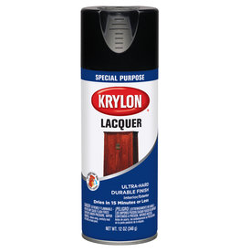 Krylon Krylon Laquer Spray Gloss Black