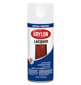 Krylon Krylon Laquer Spray Gloss White