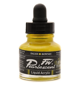 Daler-Rowney Daler-Rowney FW Pearlescent 29.5ml Hot Cool Yell