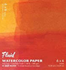 "SPEEDBALL ART PRODUCTS Fluid Cold Press Watercolor Block, 6"" X 6"""