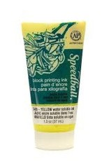 SPEEDBALL ART PRODUCTS 37cc (1.25oz.) Water-Soluble Block Ink Yellow