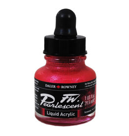 Daler-Rowney Daler-Rowney FW Pearlescent 29.5ml Hot Mama Red