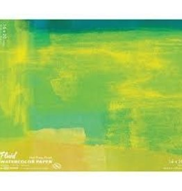 "SPEEDBALL ART PRODUCTS Fluid Hot Press Watercolor Block, 16"" X 20"""