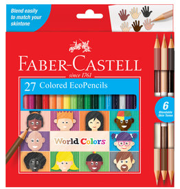 FABER-CASTELL World Colors - 27ct EcoPencils
